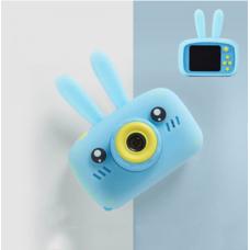 Children's fun rechargeable bunny camera - Light Blue