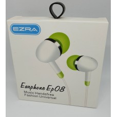 Ακουστικά κινητού in ear EZRA Ep08 - White