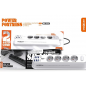 POWER STRIP WITH USB AND TYPE-C PORTS - WHITE