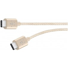 CABLE,PREMIUM,USB 2.0,TYPE C-TYPE C,1.8m,GOLD