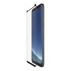 Samsung Galaxy S8, Tempered Glass,easy tray,TEMPEREDCURVE,BLACK