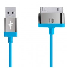 CABLE,2.1A,30-PIN,CHARGE/SYNC,2M,BLUE