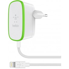 HOME CHARGER with wired Lightning cable,12W, 2.4Amp 1.8m,WHT
