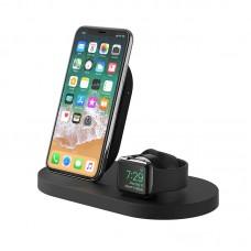 BELKIN BOOST↑UP™ WIRELESS CHARGING DOCK BLACK FOR iPHONE + APPLE WATCH