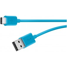 2.0 USB-A to USB-C Charge Cable ,BLUE