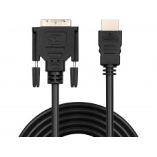 MONITOR CABLE  DVI-HDMI  2 m