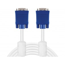 MONITOR CABLE VGA LUX  1.8 m