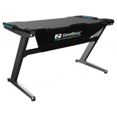 FIGHTER GAMING DESK GREY