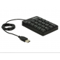 USB KEY PAD 19 KEYS BLACK