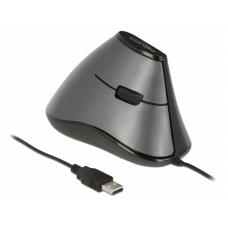 ERGONOMIC VERTICAL OPTICAL 5-BUTTON USB MOUSE