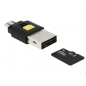MICRO USB OTG CARD READER + USB 2.0 Α MALE
