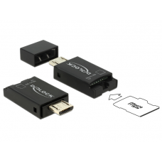 MICRO USB OTG CARD READER USB 2.0 MICRO-B MALE