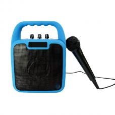 CELLY WIRELESS BLUETOOTH SPEAKER WITH MICHROPHONE FOR CHILDREN - BLUE