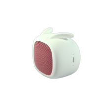 QUSHINI BLUETOOTH SPEAKER 3W WHITE/PINK