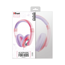 TRUST EARPHONE FOR KIDS SONIN PINK/PURPLE