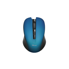 TRUST WIRELESS MOUSE 2.4 GHZ/1800 DPI MYDO SILENT CLICK BLUE