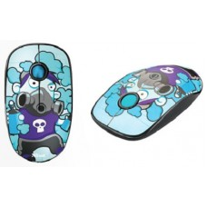 TRUST WIRELESS MOUSE 2.4 GHZ / 1600 SKETCH SILENT CLICK - BLUE