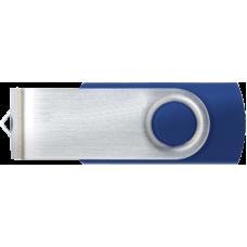 ALMOND FLASH DRIVE USB 8GB TWISTER BLUE