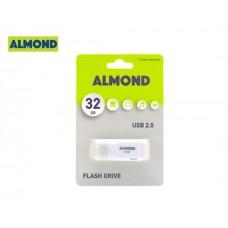 ALMOND FLASH DRIVE USB 32GB PRIME WHITE
