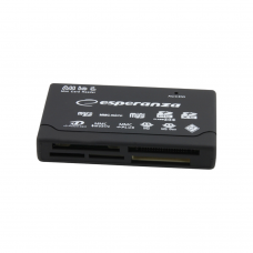 ESPERANZA CARD READER USB 2.0 ALL IN ONE EA-119 BLACK