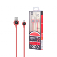 MTK USB CABLE 2.0 1Μ ΓΙΑ iPhone B2508 RED