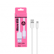 MTK MICRO USB CABLE 2A 1Μ 23102151 WHITE