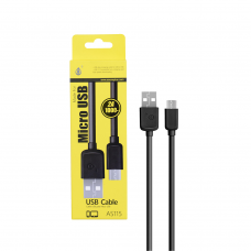 MTK MICRO USB CABLE 2A 1Μ 23102152 BLACK