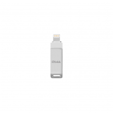 IDISKK FLASH DRIVE USB 2.0 16GB MINI U001 SILVER
