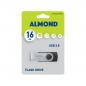 ALMOND FLASH DRIVE USB 16GB TWISTER BLACK
