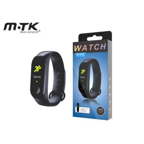 MTK RT822 SMART WATCH SPORTS BLACK