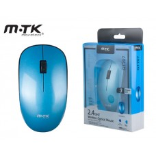 MTK WIRELESS MOUSE MARTE 2,4GHZ 1600DPI - BLUE