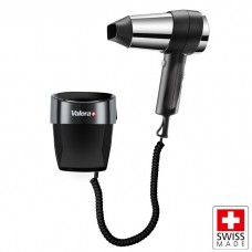 VALERA ACTION SUPER PLUS 1800 WALL MOUNTED HAIRDRYER WITH HOLDER - BLACK
