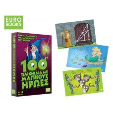 EUROBOOKS 100 MAGIC HERO GAMES 54 CARDS WITH MARKER / FABRIC