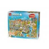 PUZZLE 1000 PIECES -ON (0)