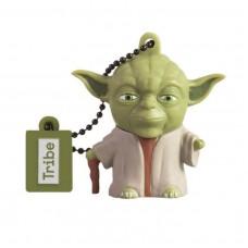 USB FLASH DRIVE 3D STAR WARS YODA THE WISE 16GB