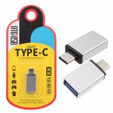Μετατροπέας - αντάπτορας OTG USB Α θηλυκό σε TYPE-C αρσενικό