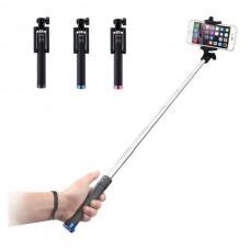 Πτυσσόμενο μονόποδο  για selfies φωτογραφίες με καλώδιο