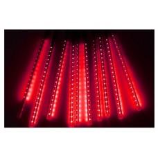 Χριστουγεννιάτικη επεκτεινόμενη LED βροχή μετεωριτών spiral 8 x 47cm κόκκινο