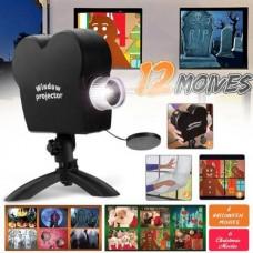 Χριστουγεννιάτικη κάμερα προτζέκτορας Window Projector