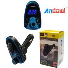 MP3 player αυτοκινήτου, 2USB, TF, Bluetooth, FM, ANDOWL, Q-B66