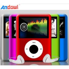 "MP4 Player, Ραδιόφωνο Multimedia οθόνη TFT 1,8"" ANDOWL BT-P203"
