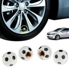 Καπάκια βαλβίδας ελαστικών ''μπάλα ποδοσφαίρου '' 4 τεμ