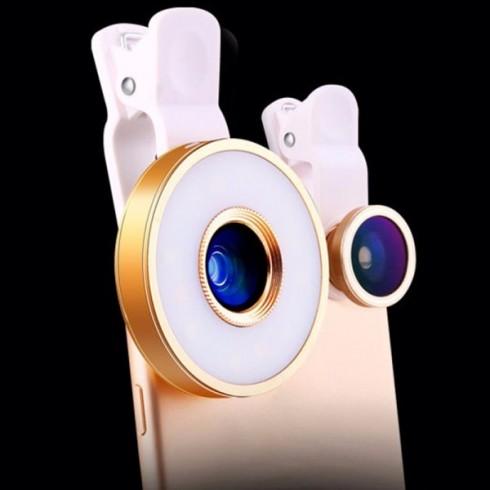 6 σε 1 φωτογραφικοί φακοί LED MX-601