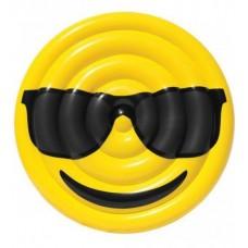 Φουσκωτό στρώμα θαλάσσης  emoji Sunglasses  150cm
