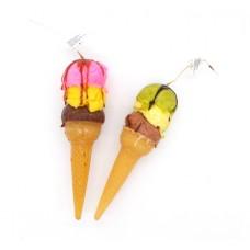 Χειροποίητο κερί Χωνάκι παγωτό