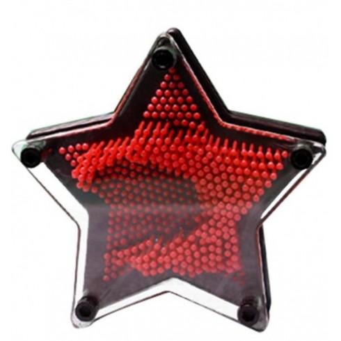 3D πίνακας γλυπτικής αστέρι με ακίδες