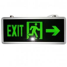 LED πινακίδα έκτακτης ανάγκης exit 2τεμάχια