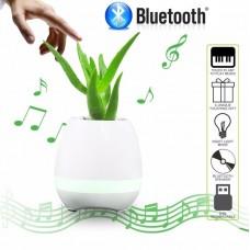 Φωτιστικό γλάστρα που παίζει μουσική ηχείο Bluetooth Speaker