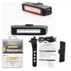 Φως ποδηλάτου LED επαναφορτιζόμενο COMET