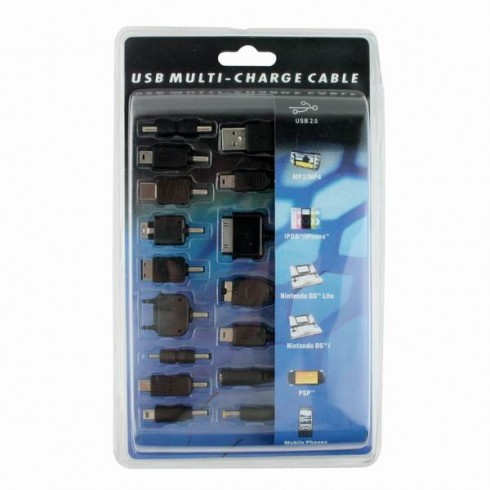 15-σε-1 USB καλώδιο φόρτισης πολλαπλών συσκευών